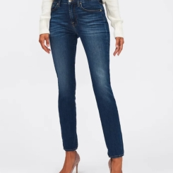 Jeansy damskie for all mankind R. 28 slim illusion